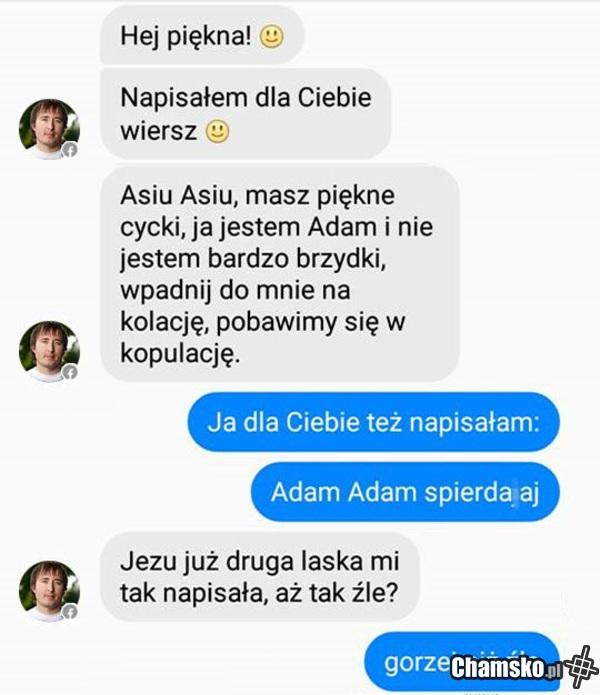 Poeta Adam Chamskopl